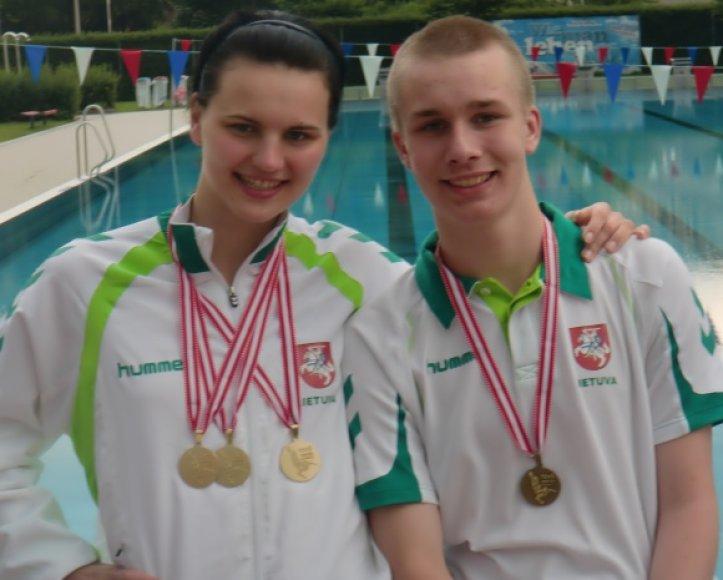 Lina Pleskytė ir Ričardas Eimontas.