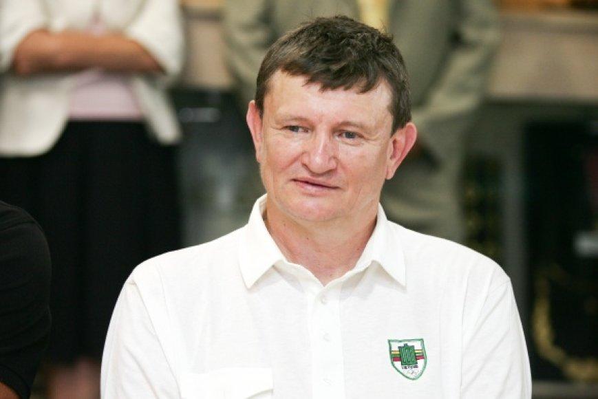 Legendinis Lietuvos krepšininkas Sergejus Jovaiša.