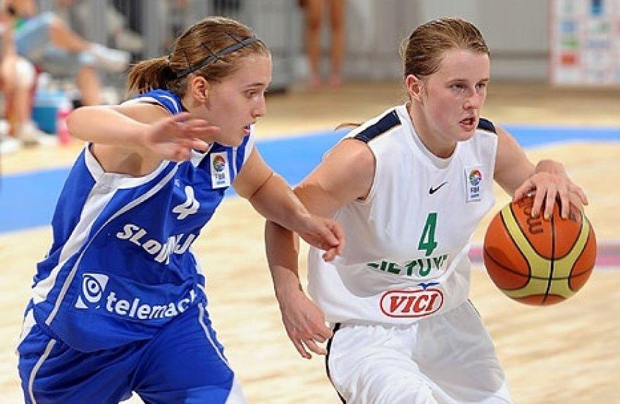 Lietuvos 18-metės siekia išlikti aukščiausiame Europos krepšinio divizione.