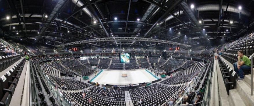 """Kauno """"Žalgirio"""" arena."""