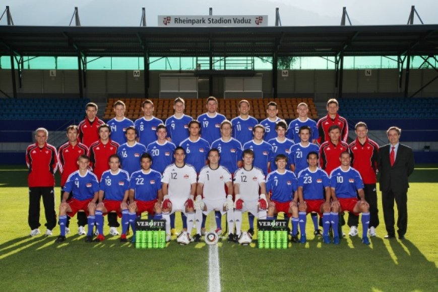 Lichtenšteino futbolo rinktinė