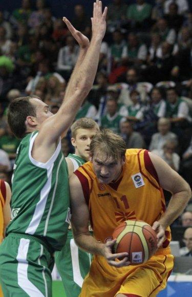 Todoras Gečevskis susižeidė mače su slovėnais