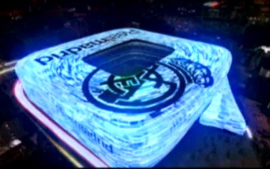 """Taip atrodys """"Santiago Bernabeu"""" stadionas po atnaujinimo."""