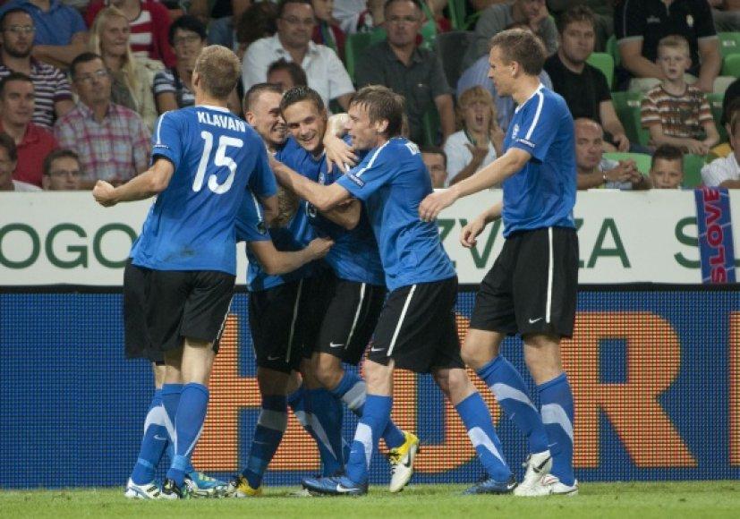 Estijos futbolininkai