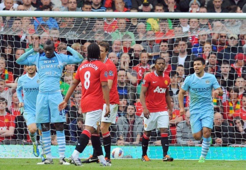 """Svo varžovus Europos taurėje sužinojo ir Anglijos futbolo grandai – """"Manchester City"""" ir """"Manchester United"""""""