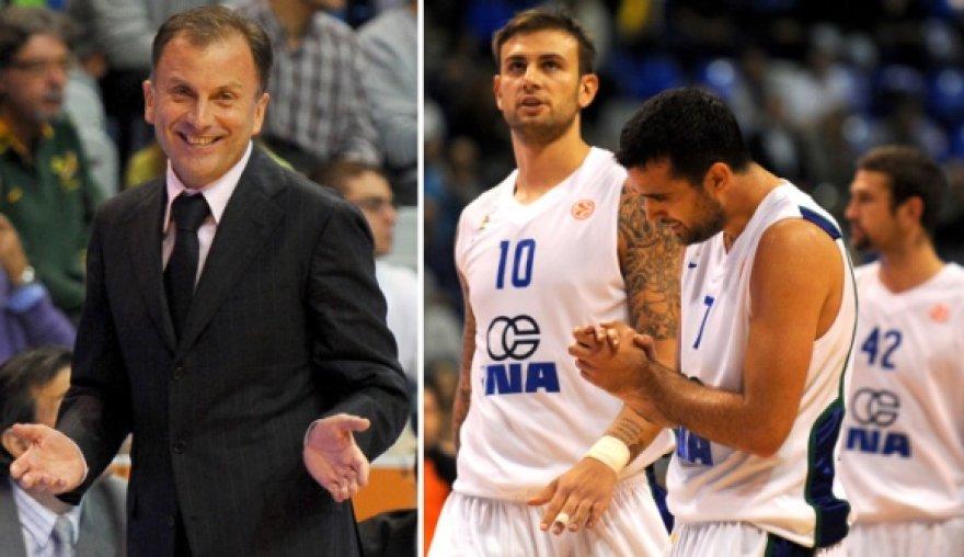 """Vladimiras Androičius (kairėje) tiki, jog """"Zagreb"""" krepšininkai atsigauna."""