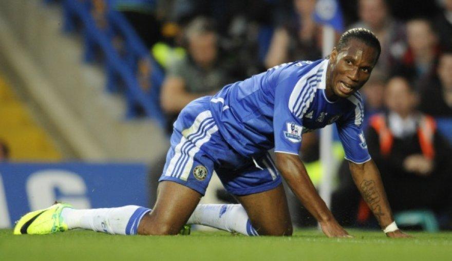 """Didier Drogba – vienas iš futbolininkų, kuriems gali būti parodytos durys """"Chelsea"""" klube."""