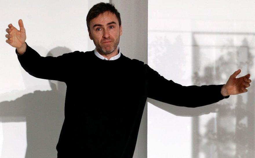Belgų dizaineris Rafas Simonsas