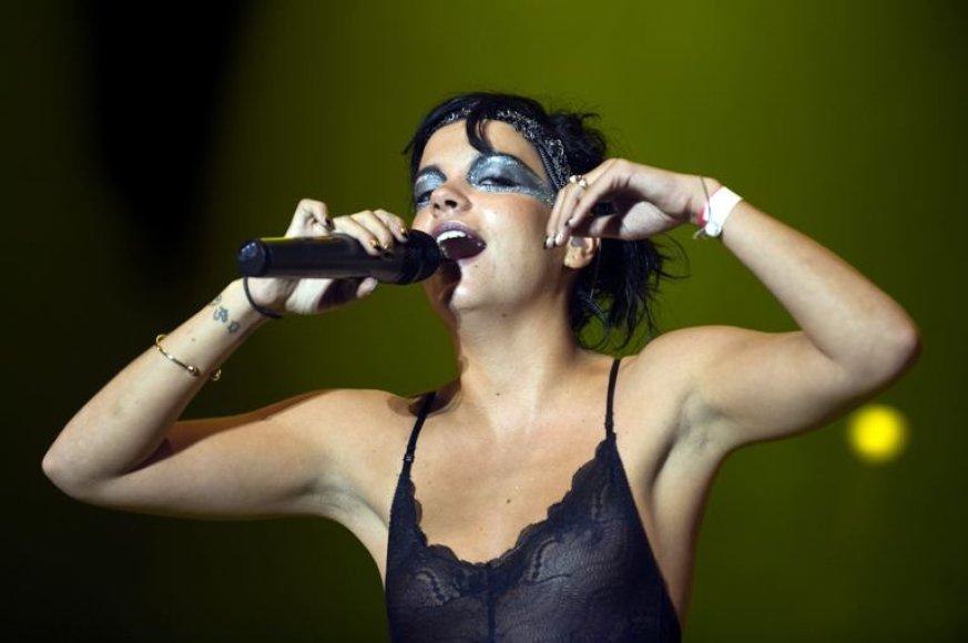 Britų dainininkė Lily Allen