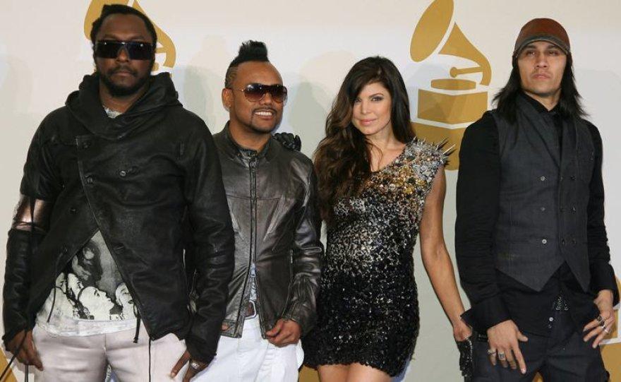 """Black Eyed Peas"" iš kairės: Will.i.a.am, Apl.de.ap, Fergie ir Taboo"