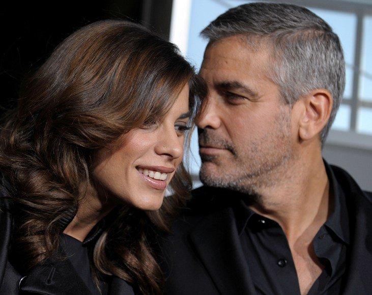 Elisabetta Canalis ir George'as Clooney