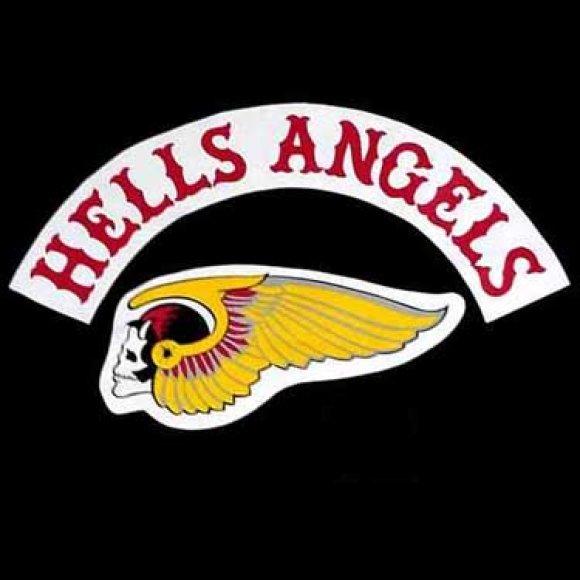 """""""Hells Angels"""" logotipas"""