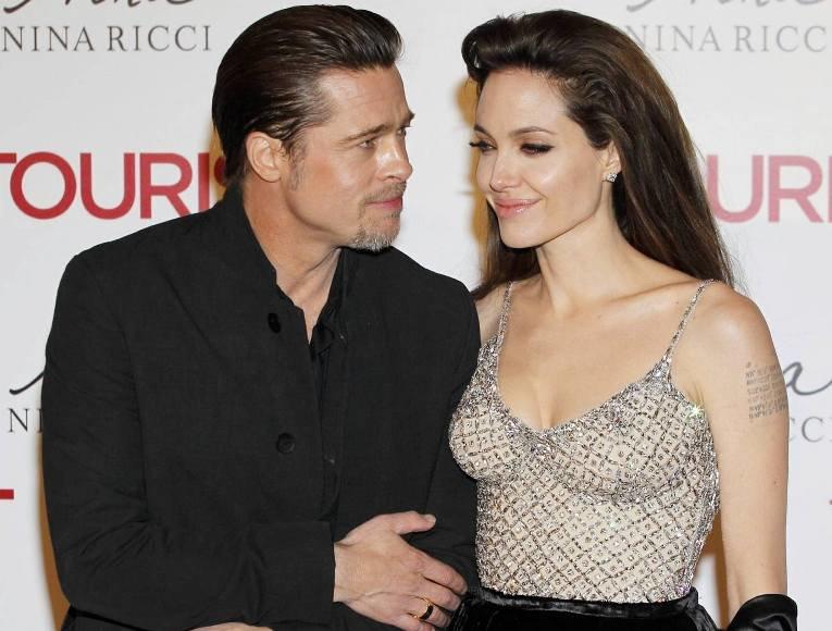 Bradas Pittas ir Angelina Jolie