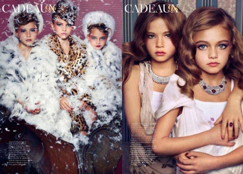 """Fotosesijos, prancūziškai pavadintos """"Cadeaux"""" (liet. """"Dovanos"""") nuotraukos"""