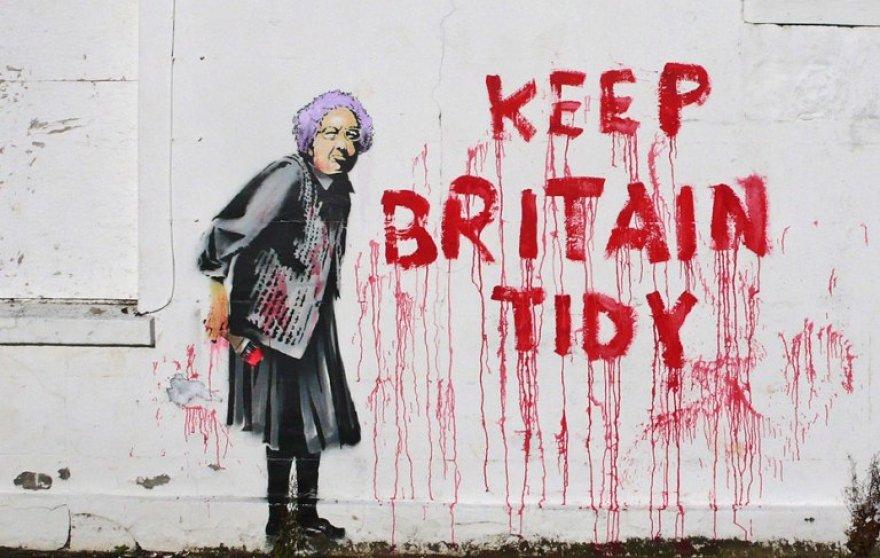 Banksy darbas