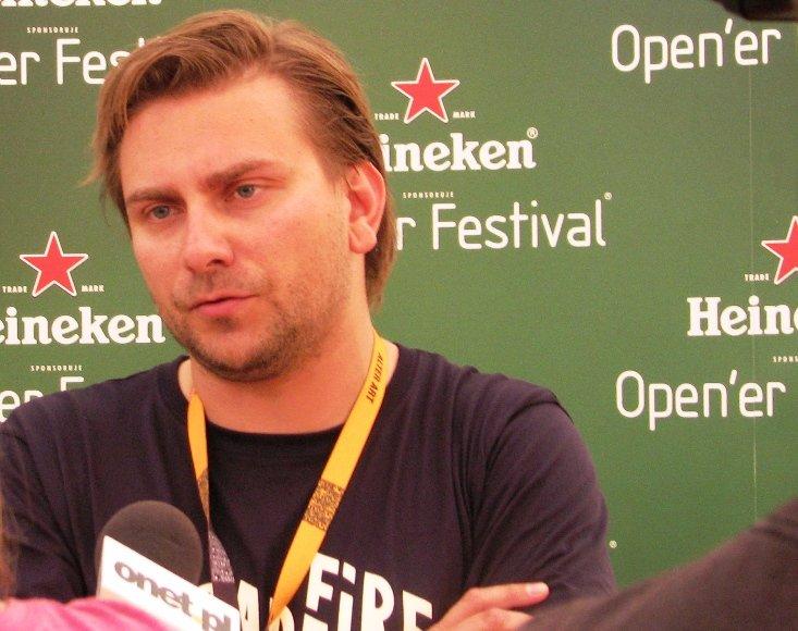 """Heineken Open'er"" organizatorius Mikolajus Ziolkowskis"