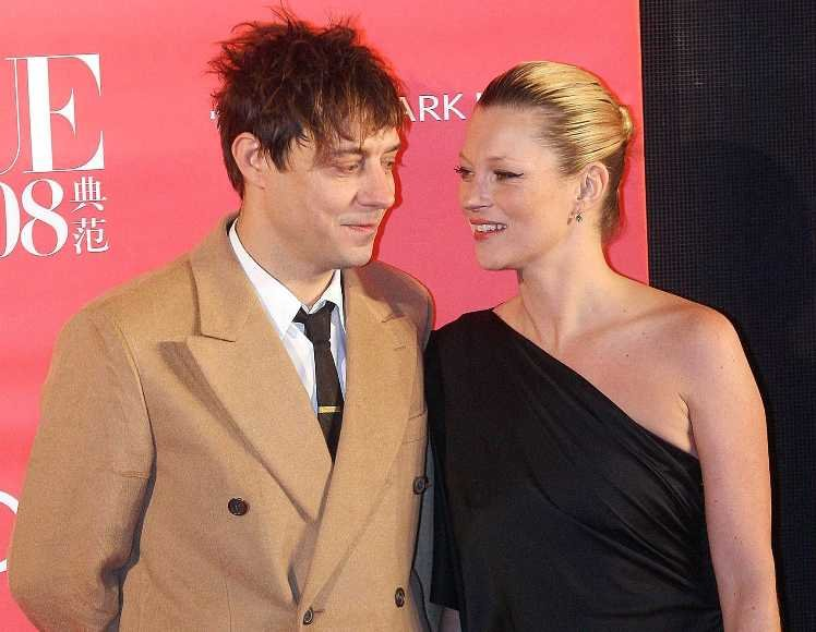 Kate Moss ir Jamie Hince'as
