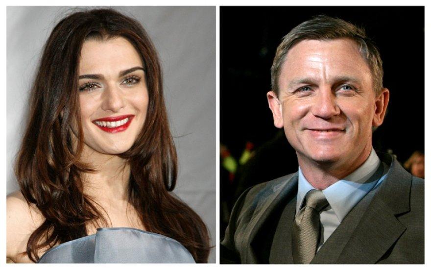 Rachel Weisz ir Danielis Craigas