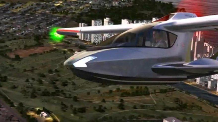 """""""Microsoft"""" skrydžių sumuliatorius """"Flight""""."""