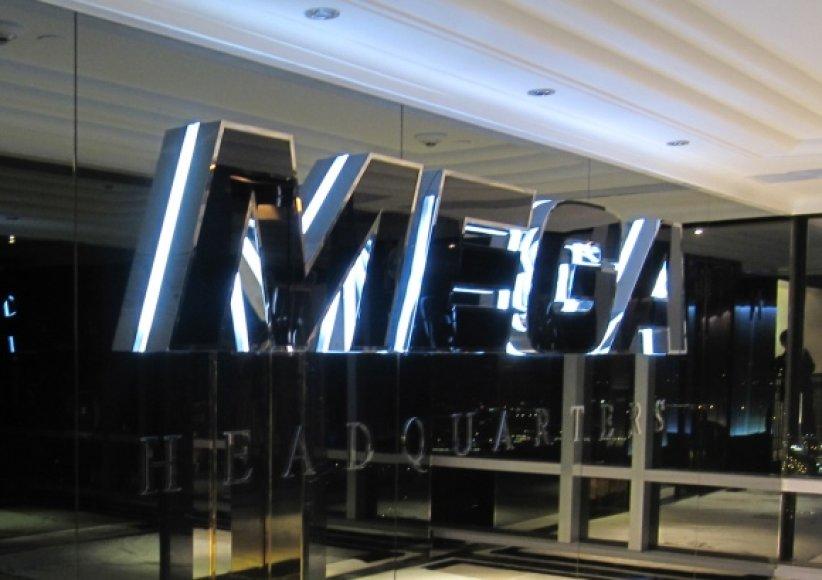 """Megaupload"" biuro Honkonge įėjimas."