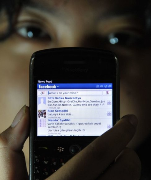 """Facebook"" mobilioji aplikacija"