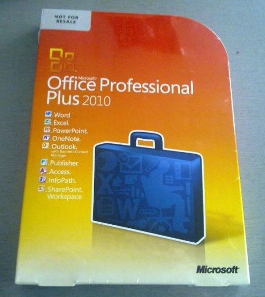 """Microsoft Office 2010 Professional Plus"""