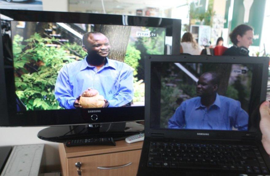 TV transliacijas galima žiūrėti ne tik televizoriaus, bet ir kompiuterio ekrane.