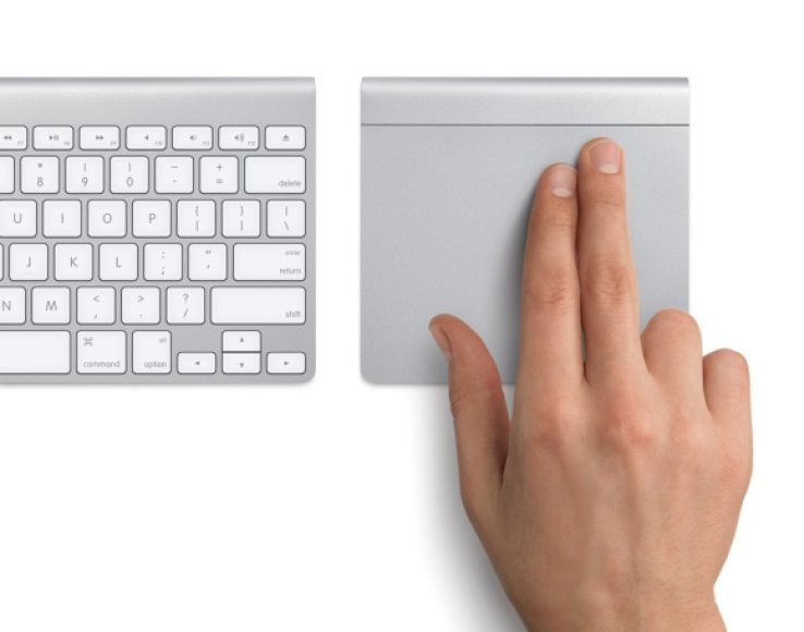 """Apple"" ""Magic Trackpad""."