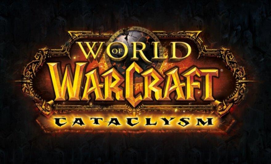 """""""WOW: Cataclysm"""" logotipas."""