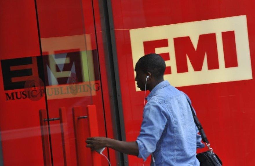 """EMI Group"" biuras Londone."