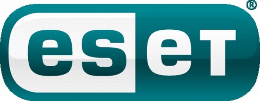 Kompanijos ESET logotipas