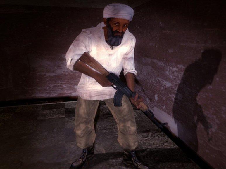 """Osama bin Ladenas žaidime """"Kuma War II"""""""
