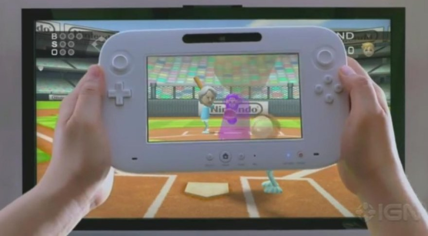"""""""Nintendo"""" vaizdo žaidimų konsolė """"Wii U""""."""
