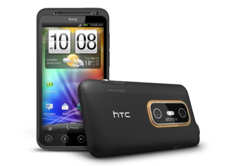 "Išmanusis telefonas ""HTC EVO 3D"""
