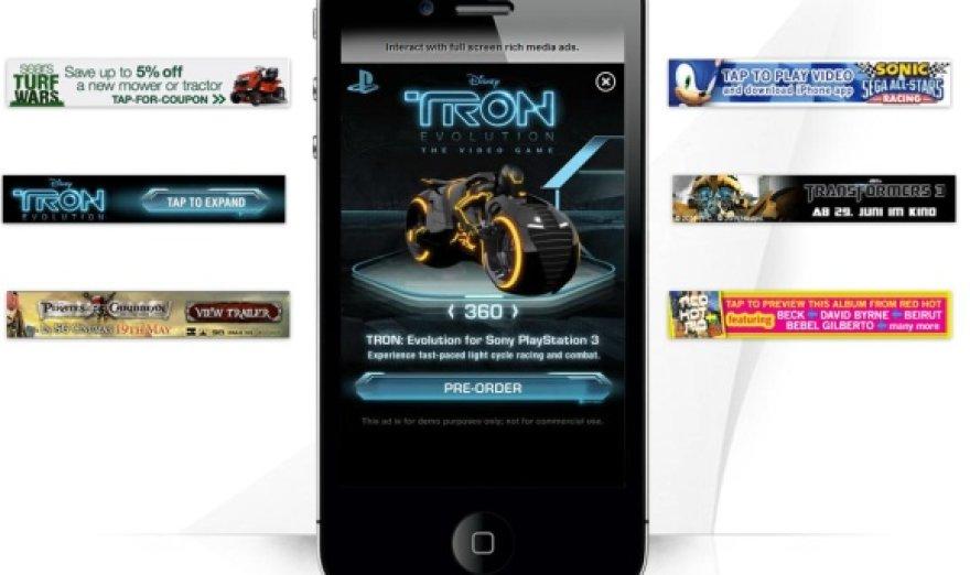 """""""InMobi"""" pardavinėja reklamas, kurios rodomos išmaniuosiuose telefonuose."""