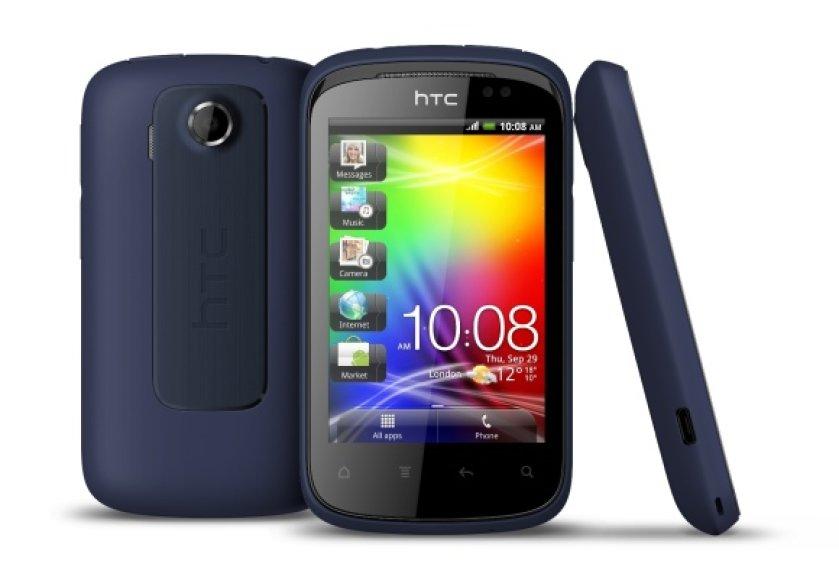 """HTC Explorer"" išmanusis telefonas"