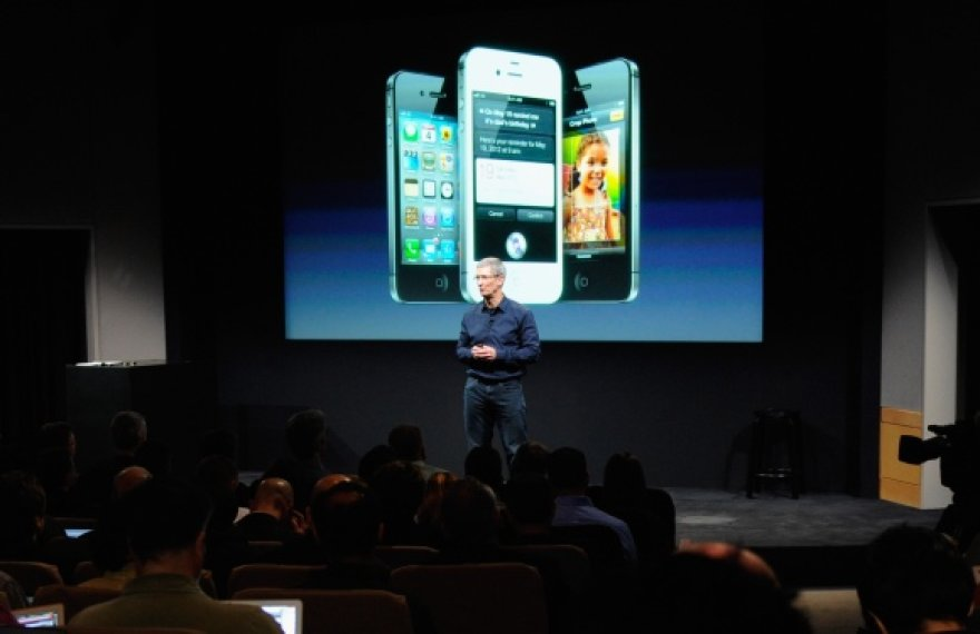 """iPhone 4S"" pristatymo akimirka"