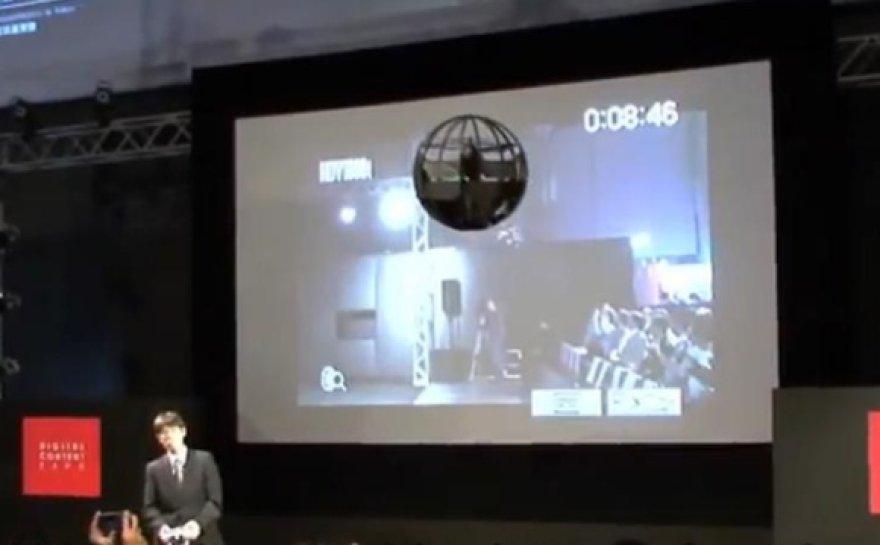Japonijos gynybos ministerija sukūrė sferos pavidalo skraidantį aparatą, galintį skraidyti įvairiausiomis kryptimis ir staigiai jas keisti.