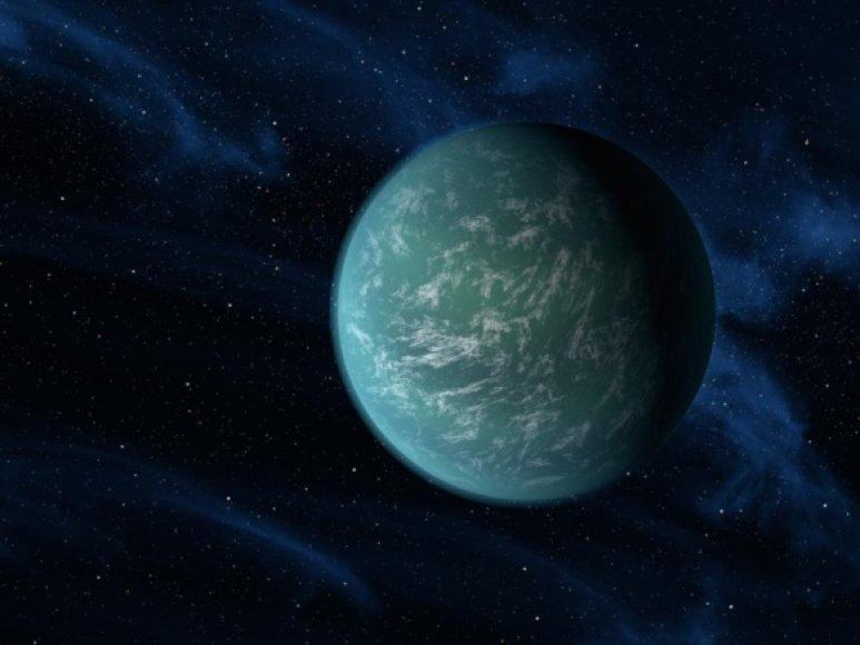 "Antrąja Žeme vadinama planeta ""Kepler 22-b""."