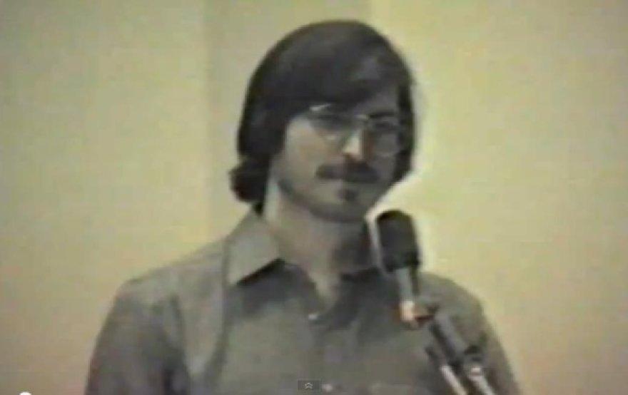 Steve'as Jobsas jaunystėje