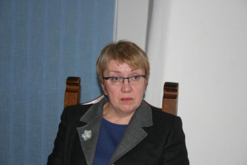 Vilniaus universiteto docentė Irena Vaišvilaitė