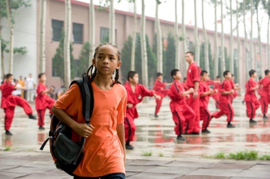 """Aktoriaus Willo Smitho sūnus Jadenas už vaidmenį filme """"Karatė vaikis"""" sulaukė gerų atsiliepimų"""