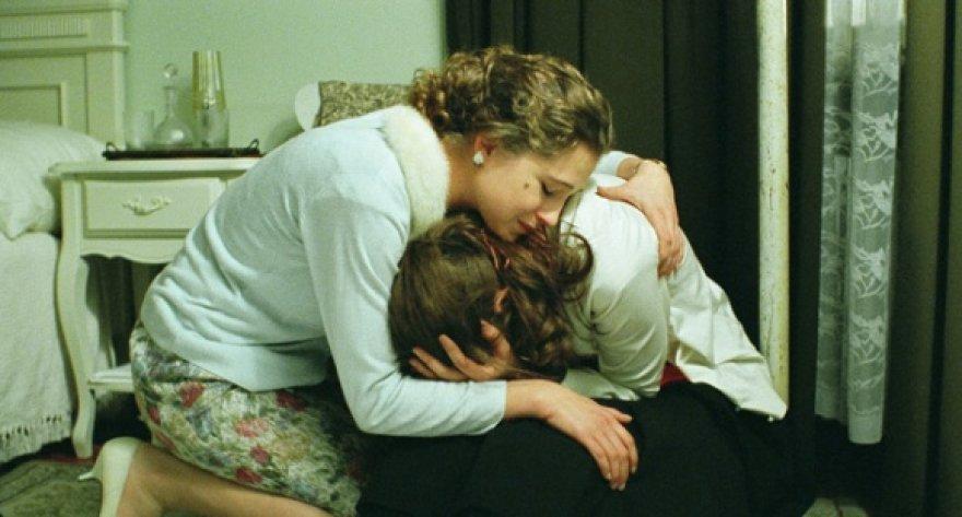 """Viena iš filmo """"Kai apkabinsiu tave"""" aktorių – Jurga Jutaitė."""