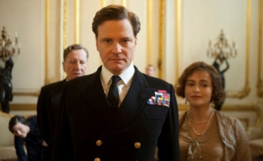 """Aktoriaus Colino Firtho vaidyba filme """"Karaliaus kalba"""" jau įvertinta """"Auksiniu gaubliu""""."""