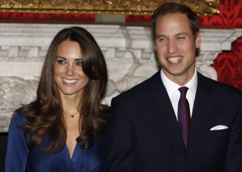 Princo Williamo ir jo sužadėtinės Kate Middelton vestuvės įvyks balandžio 29 dieną.