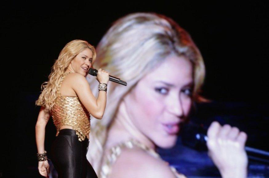 Shakiros koncertas Venesueloje.