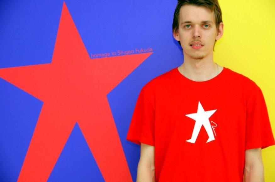 Vilniaus Dailės Akademijos Klaipėdos Vizualiojo Dizaino Katedros studentas Ilja Klemencovas didžiuojasi galįs atstovauti Lietuvai tarptautinėse parodose.
