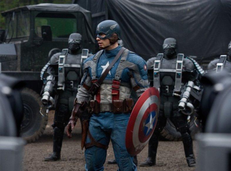 """""""Kapitonas Amerika: pirmasis keršytojas"""""""