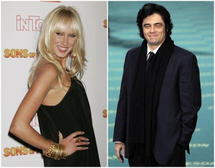 Kimberly Stewart ir Benicio del Toro