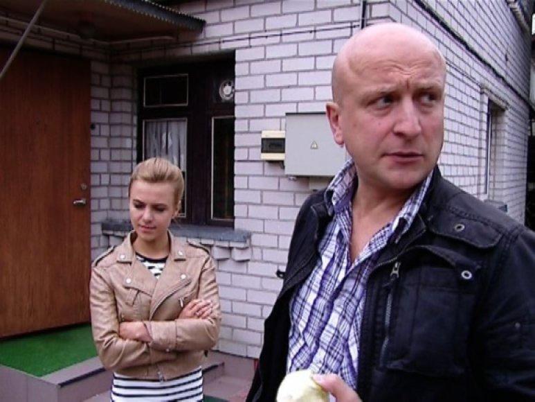 Ramūnas Šimukauskas ir jo sužadėtinė Rūta Mykolaitytė.